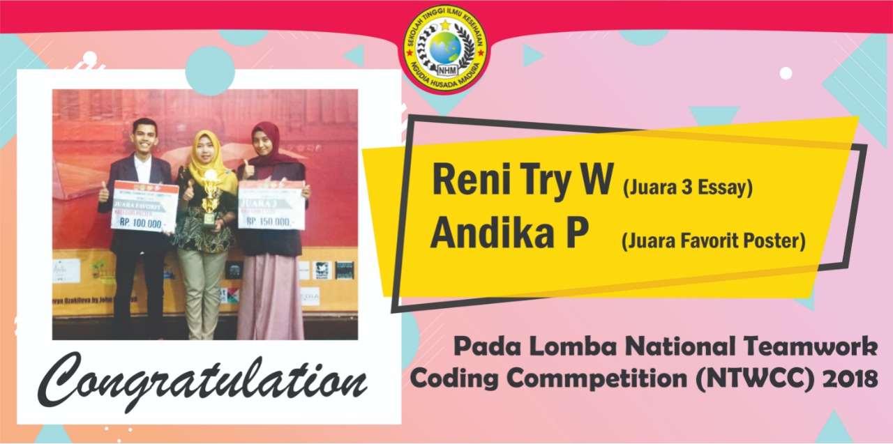 juara lomba national teamwork coding competition (ntwcc)