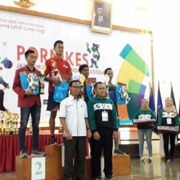 Juara 1 Volly Putra Pornikes Jatim 2019 Tingkat Nasional